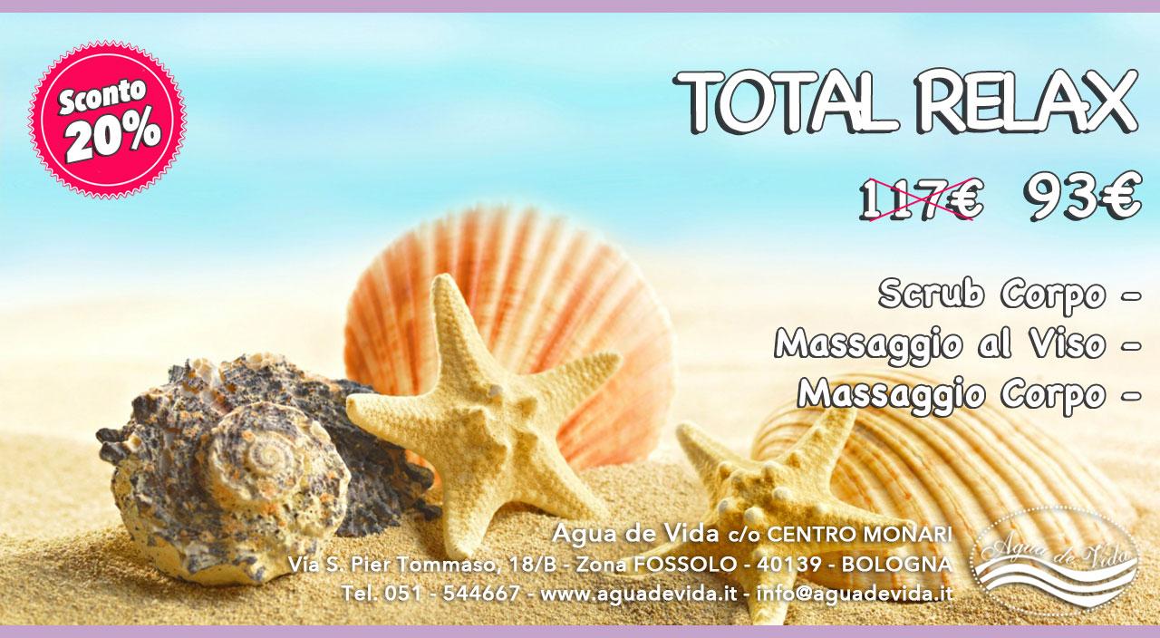 Promozione Estate - Total Relax | Agua de vida | Centro Estetico | Bologna
